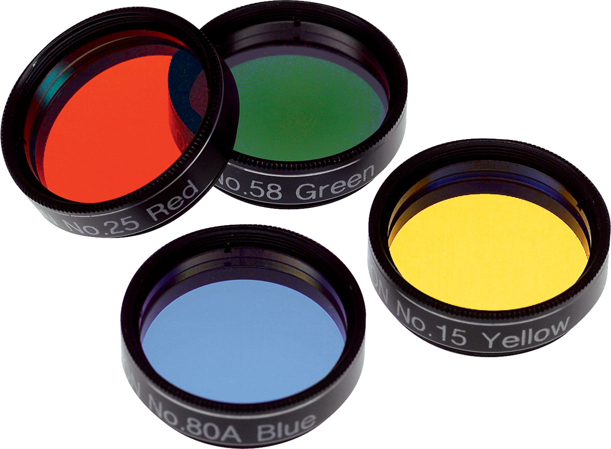 1.25-inch Orion Basic Set of Four Color Filters