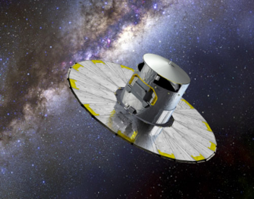 Artist's Impression of Gaia - ESA