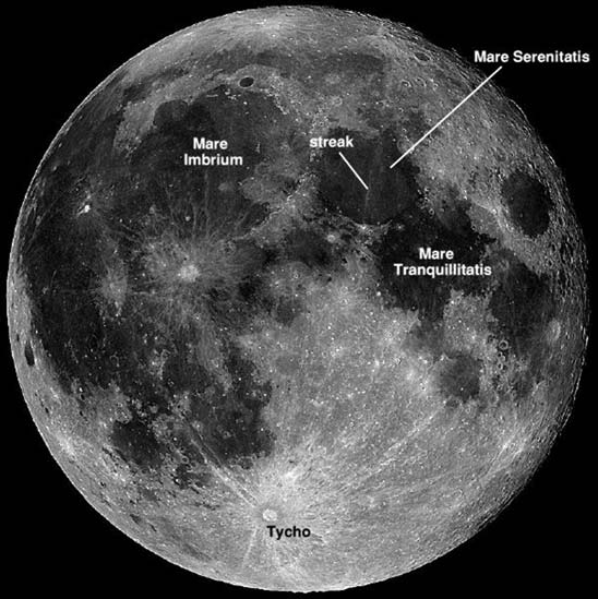 Lunar Image Credit: NASA