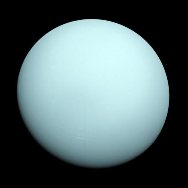 Uranus as seen by NASA's Voyager 2