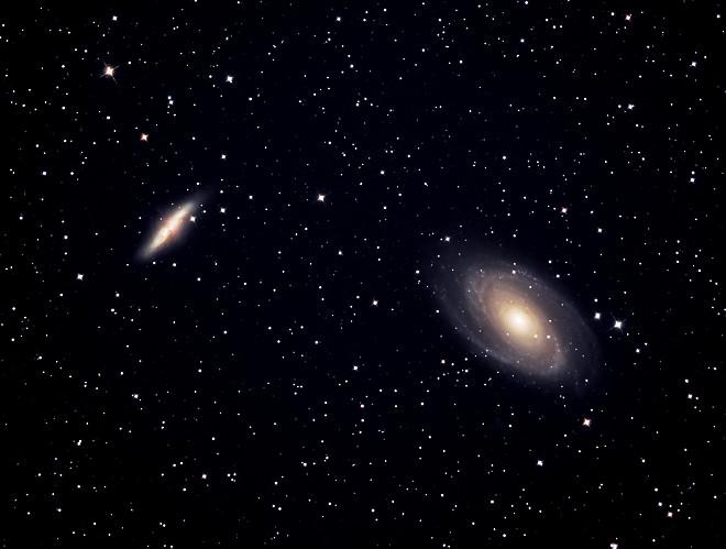 M81 and M82 by Joe Roberts