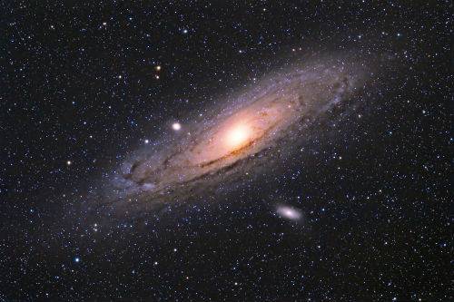 Wide View of M31 by Rodrigo R.