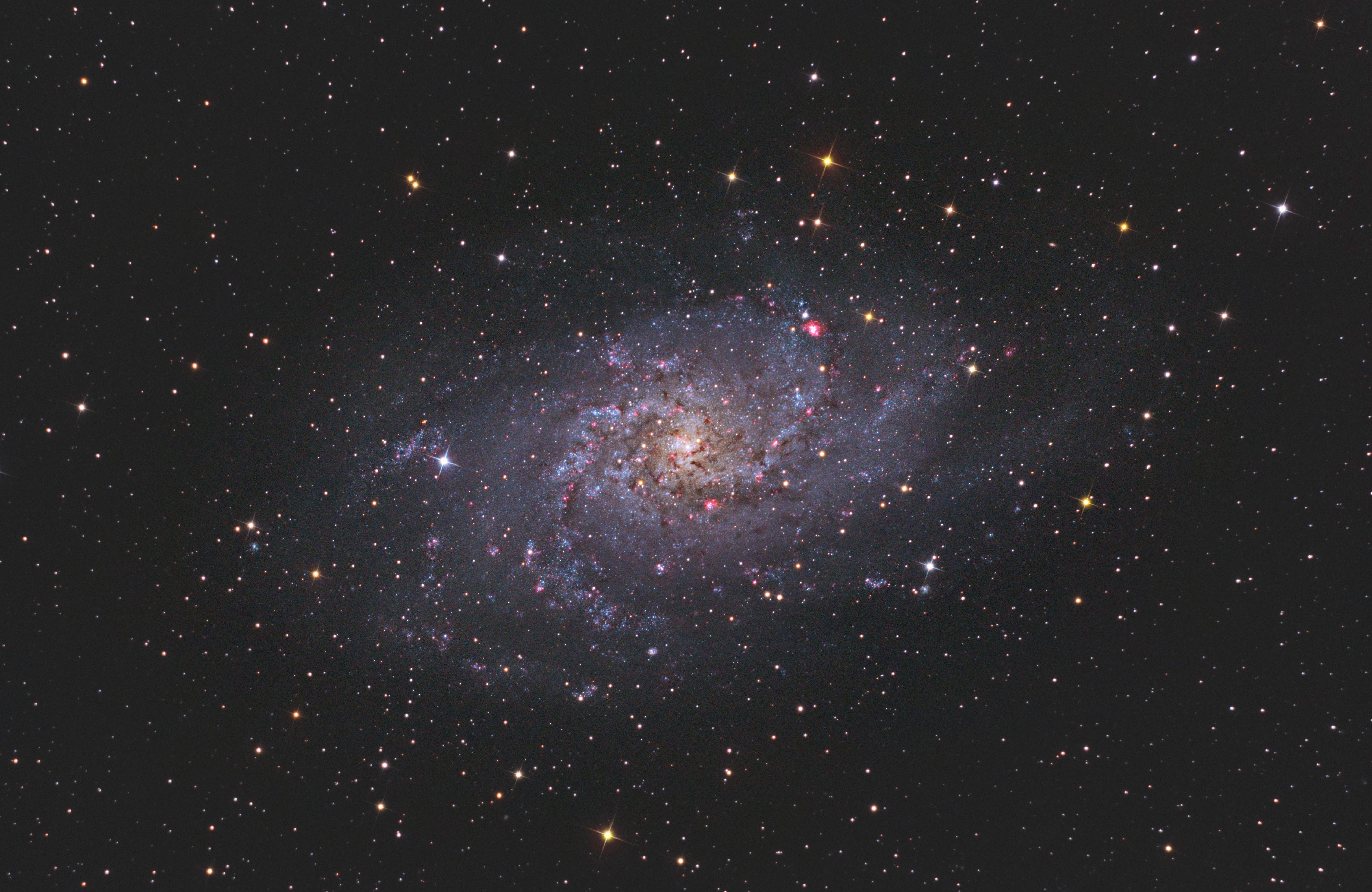 M33, Triangulum Galaxy by Christopher Gomez