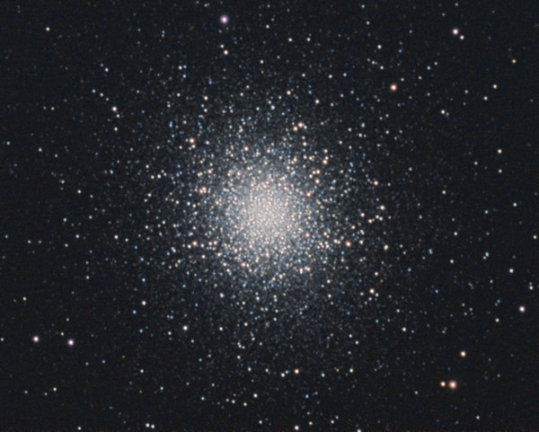 M13 - Globular Cluster - Camera G3 Mono