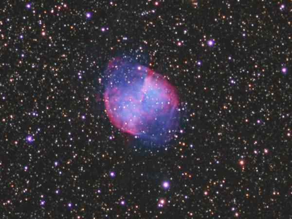 M27 - Planetary Nebula - Camera G3 Mono