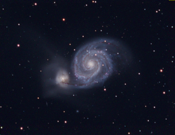 M51 - Whirlpool Galaxy - Camera G3 Mono