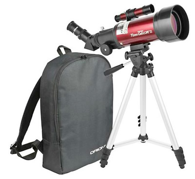 Orion's GoScope II 70mm Refracter Travel Telescope