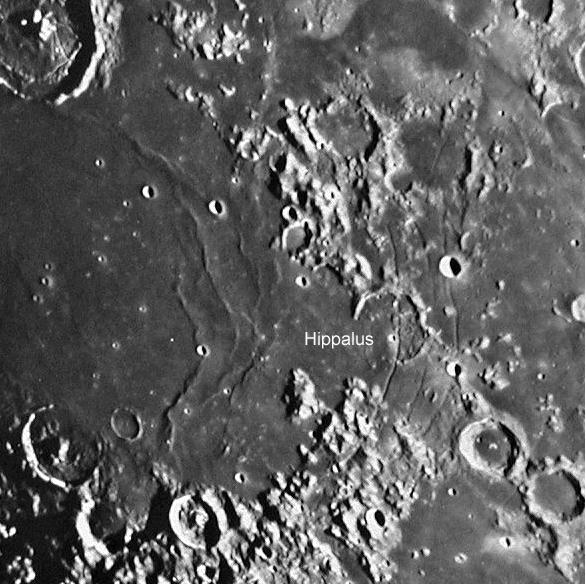 Crater Hippalius