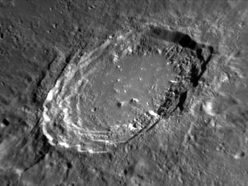 Aristoteles Crater - Photo Credit: Damian Peach