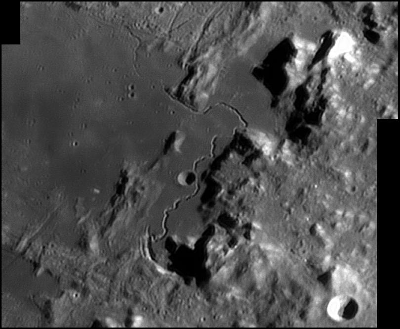 Hadley Rille - Photo Credit: Damian Peach