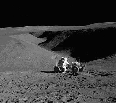 Photo Credit: Apollo 15 Mission at Hadley Rille Courtesy of NASA
