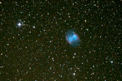 M27 - The Dumbbell Nebula - Image courtesy Luk�s Kalista