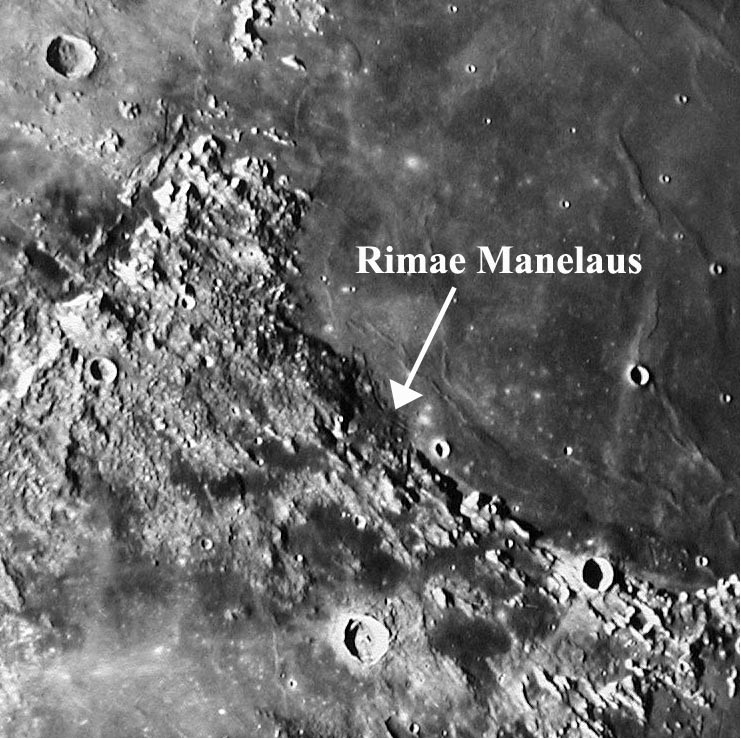 Challenging Rimae Manelaus