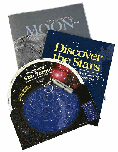 Four beginners essentials in the Beginning Stargazer's Toolkit