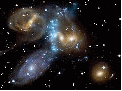 Hubble photo of Stephan's Quintet