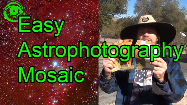 Astrophotography Tutorials by Doug Hubbell on YouTube