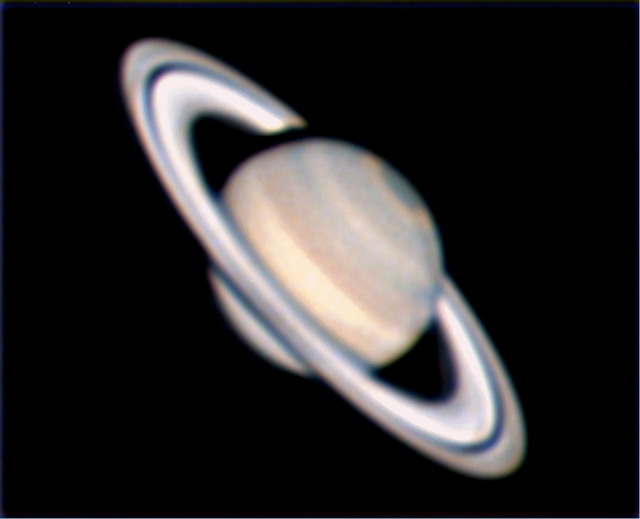 Saturn, by Marc J.