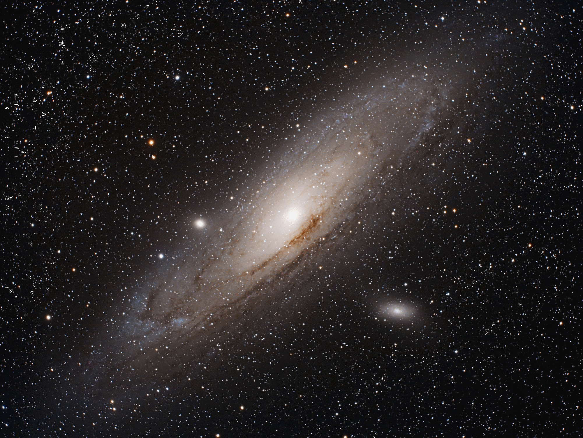 Andromeda, M31. By Orion Staff.