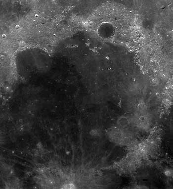 Mare Imbrium Courtesy of NASA