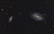 M81 - Bode's and Cigar Galaxies