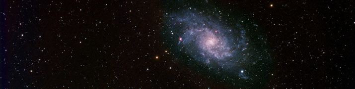Messier 33 taken by Chanan on Octobe 18th, 2012.