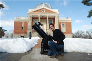 Dean Regas with Orion SkyQuest Classic Dobsonian Telescopes