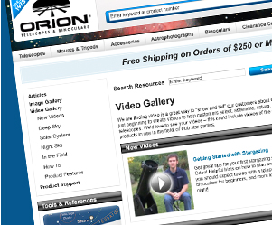 Watch Helpful Orion Videos