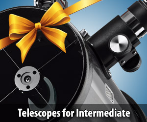 Expand your horizons with an intermediate-level Orion telescope.