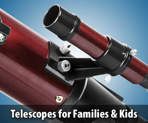 Discover the fun of safe family stargazing with these great telescopes for kids and families.
