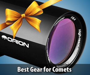 These great telescopes, binoculars, and accessories are ideal for comet-watching, and more!