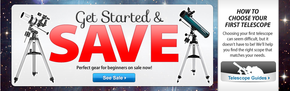 Get Started and Save Sale!