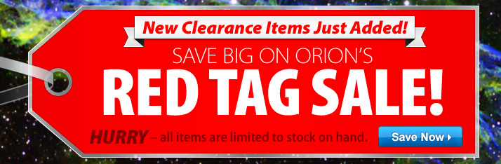 Red Tag Sale Continues - New Deals Just Added