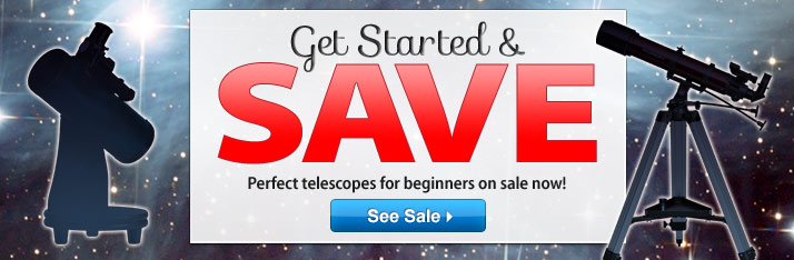 Get Started & Save: Beginner Telescopes on Sale