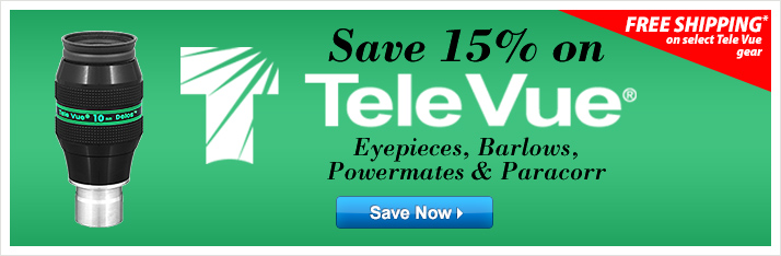 Save 15% on Tele Vue