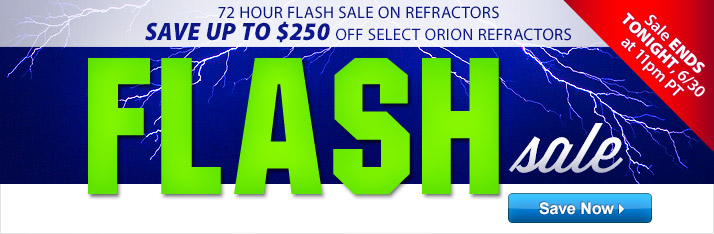 Refractor Flash Sale Ends Tonight