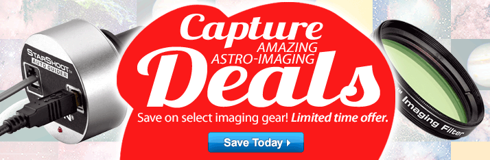 Instant Rebates on Astro-Imaging Gear