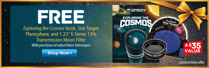 Free Moon Filter, Cosmos Book & Star Target