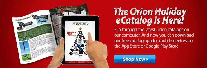 The Orion Holiday eCatalog is Here