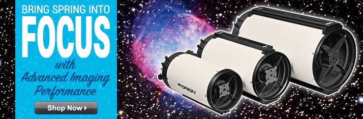 Bring Spring into Focus with an Orion Ritchey-Chretien Astrograph Telescope