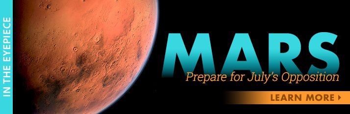 Prepare for the July Mars Opposition