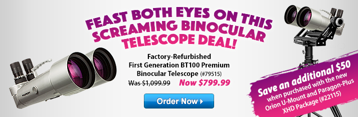 Feast Both Eyes on this Screaming Binocular Telescope Deal!