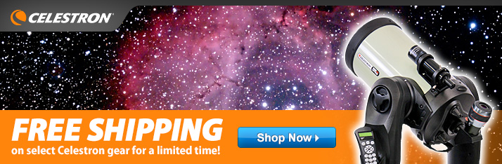 Free Shipping on Select Celestron Gear!