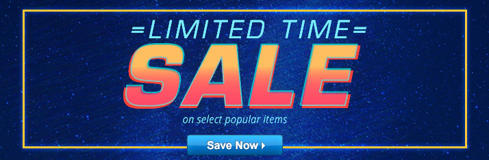 Special Limited Time Sale on Select Popular Products