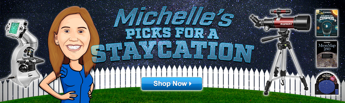 Michelle's picks for a Staycation