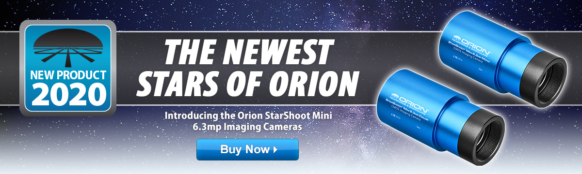 Introducing the Orion StarShoot Mini 6.3mp Cameras