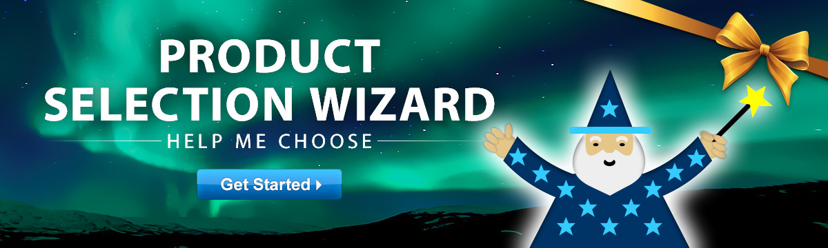 Product Selection Wizard: Help Me Choose