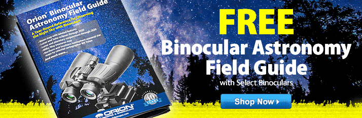Free Binocular Astronomy Guide with Purchase of Select Binoculars