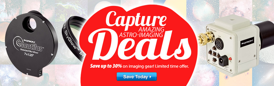 Save up to 30% During Our Astro-Imaging Sale!