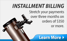 Shop with our Installment Billing Plan!