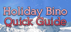 Holiday Binocular Quick Guide